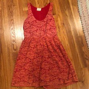 Cute reddish pink dress